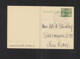 Briefkaart 1941 Castricum - Postal Stationery