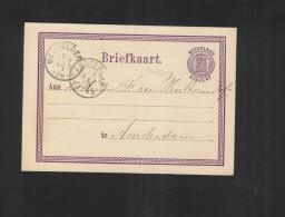 Briefkaart 1873 - Postal Stationery