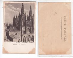 - ESPAGNE - BURGOS - La Cathedrale - La Chocolaterie D´aiguebelle - - Burgos