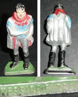 Vintage Lot 2 Figurines Publicitaires MC CAIFFA (Maison Du Café ??) MESSIRE FLORENT Dont Une Peinte, Thierry La Fronde - Figurines