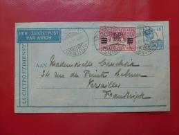 BATAVIA POUR VERSAILLES 1931, PAR AVION,