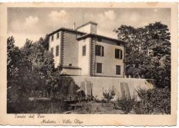 Toscana-pisa-casciana Tenuta Del Pino Muletta Veduta Villa Olga Anni 30 - Italia