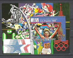 Tchad  JO Los Angeles 1984   Perf   **  MNH - Summer 1984: Los Angeles