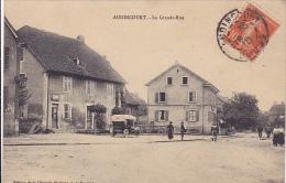 Cpa-25-audincourt-animée- Grande Rue-edi Librairie Moderne - Otros Municipios