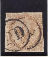 Colonies Générales 1859-65 - N° 3 - Oblitération P.D Dans Un Cercle (2 Scans) - Águila Imperial