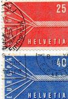 B - 1957 Svizzera - Europa-CEPT