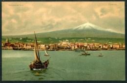 Catania, Panorama dal Porto, Stengel & Co..