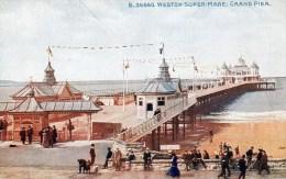 Postcard - Weston-Super-Mare Grand Pier, Somerset. B.36660 - Weston-Super-Mare