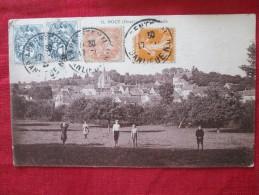 NOCE Nocé (orne) Vue Générale Animée Timbrée Entre 1920 1921 - France