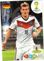 Panini Adrenalyn - FIFA World Cup Brésil - Toni KROOS (Deutschland) - Trading-Karten