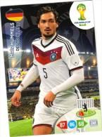 Panini Adrenalyn - FIFA World Cup Brésil - Mats HUMMELS (Deutschland) - Trading-Karten
