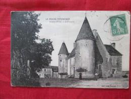 NOCE Nocé (orne) Manoir L´ORMARIN Animée Timbrée 1920 Surtaxe - Châteaux