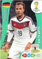 Panini Adrenalyn - FIFA World Cup Brésil - Mario GOTZE (Deutschland) - Trading-Karten