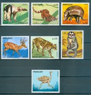 PARAGUAY Satz Motive Tiere Postfrisch - Timbres
