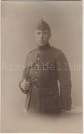 Homme En Uniforme / Militaria / Soldaat / Belgisch Leger / Armée Belge / Belgische Koninklijke Fanfare - Uniformes