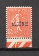 ALGERIE N° 28  NEUF SANS CHARNIERE COTE 1.30€  SEMEUSE - Neufs