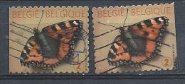 BELGIE 4321 / 4321a °  2 ZEGELS UIT B136 - Used Stamps