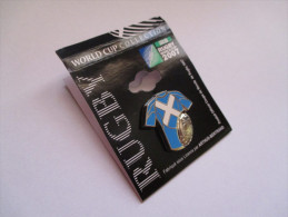 Pin's Rugby / Coupe Du Monde 2007 - Maillot Ecosse (Signé Arthus Bertrand) - Rugby