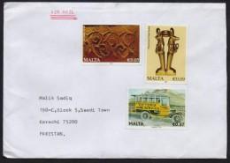 Achaeology, Victoria Van, Postal History Cover From MALTA 2015 - Arqueología