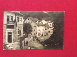 FRIULI VENEZIA GIULIA   SLOVENIA - IDRIA - IDRIJA - VIA UDINE : HOTEL CON LA BANDIERA -ANNULLO VIPACCO GORIZIA - 1930 - Gorizia