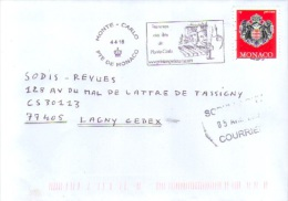 Monaco N° 2280 Flamme Printemps Des Arts - Monaco