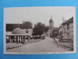 FONTENOIS-les-MONTBOZON (Hte-Saone) - L'Eglise - La Fontaine. - France