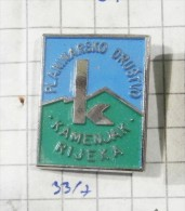 MOUNTAINEERING CLUB KAMNIK Rijeka (Croatia) Yugoslavia/  Alpinism Climbing - Alpinism, Mountaineering