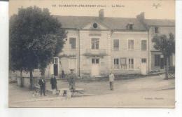 107. Saint Martin D'Auxigny, La Mairie - France