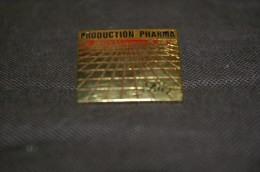 Pin´s Production Pharma Lilly - Badges