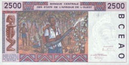 WEST AFRICAN STATES P. 312Cc 2500 F 1994 UNC - Burkina Faso