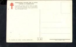 N1158 Cartolina FEDERAZIONE ITALIANA CONTRO LA TUBERCOLOSI - ANDREA VERROCCHIO: STUDIO - BAMBINI ENFANT KINDER - Salute