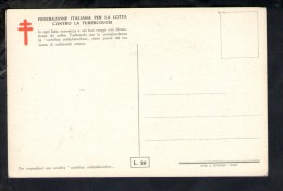 N1159 Cartolina FEDERAZIONE ITALIANA CONTRO LA TUBERCOLOSI - ANDREA DEL SARTO: STUDIO - BAMBINI ENFANT KINDER - Salute
