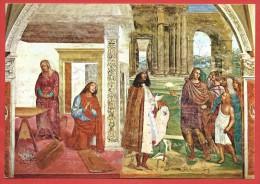 CARTOLINA NV ITALIA - SIENA - Abbazia di Monte Oliveto Maggiore - Sodoma - S. Benedetto - 10 x 15