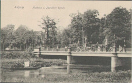 Leipzig, Flutkanal Und Plagwitzer Brücke,  Postkarte - Leipzig