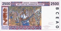 WEST AFRICAN STATES P. 712Ka 2500 F 1992 UNC - Senegal