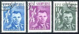 ALBANIA 1961 - Set Used - Albanien