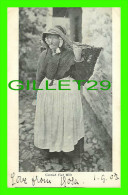CORNWALL, UK - CORNISH FISH WIFE - TRAVEL IN 1903 - UNDIVIDED BACK - - Otros