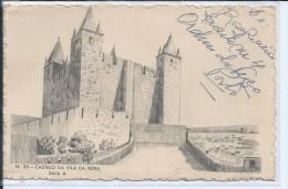 Inteiro Postal Castelo Vila Feira.Antigo Castro Romano.Stationey Feira Castle.Stamp Overload.Ancient Roman Castro.2scans - Entiers Postaux