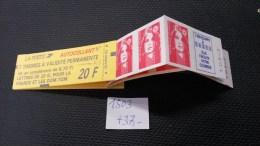 Carnet  N° 1503  Neuf  **, à 20% De La Cote, Etat TB - Carnets