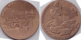 Medaille Aus Israel -Bethlehem- - Entriegelungschips Und Medaillen