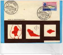 """N°171-11 Frs  Bateau """"reine Amélia"""" Sur Enveloppe """" Timbre Impeccable  Seul Compté"""" - Used Stamps"""