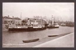 EN191) Ipswich - steamers at Landing Stage