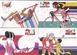 USA. 1983. Summer Olympics Games. Los Angeles. MC. - Summer 1984: Los Angeles