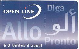 CARTE*-PREPAYEE-60U-OPEN LINE-ALLO PRONTO-30/04/1999--V° N° Lasers--GRATT EE-T BE - Autres Prépayées