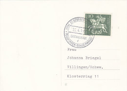 BRD 346 EF, St, Georg Auf Karte Mit ESST St. Georgen - [7] République Fédérale