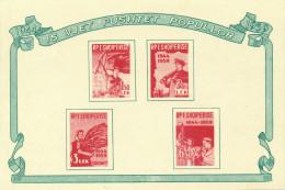ALBANIA 1959 - Min Sheet MNH** - Albanie