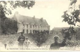 85   NOIRMOURTIER   L ABBAYE  BLANCHE    CE MONASTERE  FUT  DETRUIT  ............... - Noirmoutier