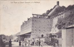 Les fours � chaux Dumont � la Mallieue super anim� circul� en 1911
