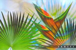Polynésie Française-Les Iles Du Pacifique Sud (a)  Une Fleur De TAHITI Oiseau De Paradis   (CP047) (BOTANIQUE  Fleurs) - Polynésie Française