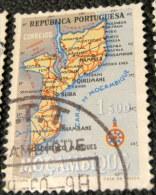 Mozambique 1954 Map 1.00e - Used - Mozambique